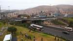 Tras semanas de retraso se usará intercambio vial Alipio Ponce - Noticias de puente alipio ponce