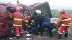 Dos muertos dejó violento choque en vía Cusco - Abancay - Noticias de curahuasi