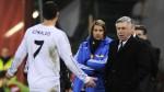 """Ancelotti considera """"un poco exagerada"""" expulsión de Ronaldo - Noticias de carlos gurpegui"""