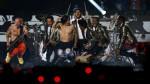 Bruno Mars y los Red Hot Chili Peppers calentaron el Super Bowl - Noticias de anthony kiedis