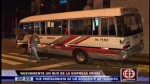 Bus de Orión protagonizó triple choque y dejó seis heridos - Noticias de accidente de transito