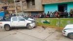 Trasladan al penal a joven que atropelló a sus padres - Noticias de accidente en huancavelica