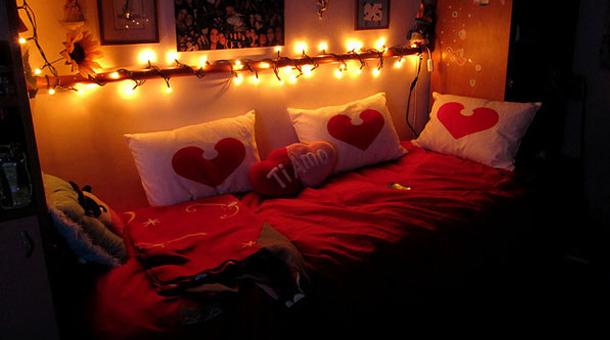 Foto ponle el toque rom ntico a tu habitaci n en san for Cuartos decorados con velas