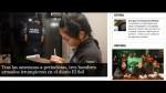 Argentina: Sujetos irrumpen en diario y amenazan a periodistas - Noticias de sandra vargas