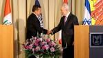 Humala y Peres decididos a fortalecer los lazos económicos - Noticias de simon peres