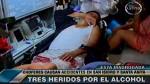 Alcohol dejó a tres heridos en las pistas esta madrugada - Noticias de accidente de transito