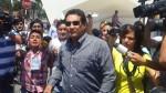 Alcalde Carlos Burgos salió de la Dirincri en total silencio - Noticias de cementerio de huachipa
