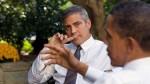 George Clooney proyectó su nueva película en la Casa Blanca - Noticias de damon hill