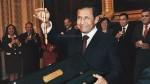 Foto revela que primo de López Meneses entregó bastón a Humala - Noticias de oswaldo zapata corrales
