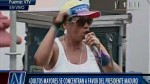 Rapera de la tercera edad bailó con Nicolás Maduro - Noticias de beatriz bastidas