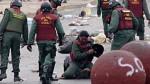 Venezuela: Policía golpea a joven que protegía una barricada - Noticias de marvinia jimenez