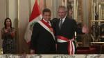 René Cornejo juró como nuevo primer ministro - Noticias de sueldos dorados