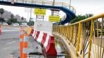 Puente peatonal dañado en Surco será demolido - Noticias de accidente vial panamericana norte