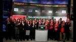 Delegación peruana dio el 'campanazo' en la Bolsa de Toronto - Noticias de francis stening