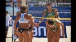 Vóley Playa: bellas jugadoras ganan Sudamericano en Agua Dulce - Noticias de veraneantes