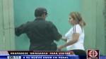 'Gringasha' visita a cabecilla de banda criminal en Lurigancho - Noticias de bandas delictivas