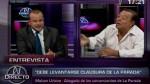 Malzón Urbina y Augusto Thorndike se insultaron en TV - Noticias de malzón urbina