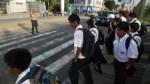 Alertan que el 85% de colegios no tiene señales de tránsito - Noticias de inicio de clases