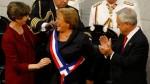 Michelle Bachelet asume nuevo periodo presidencial en Chile - Noticias de karol cariola
