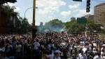 MINUTO A MINUTO: Reprimen marcha de estudiantes en Caracas - Noticias de sebin