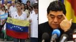Catherine Fulop acusa a Maradona de apoyar a Maduro por dinero - Noticias de catherine fulop