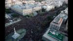 España: Gigantesca marcha termina con 17 detenidos y 27 heridos - Noticias de movimiento de contenedores