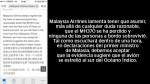 Aerolínea comunicó vía SMS muerte de pasajeros del vuelo MH370 - Noticias de adrienne mong