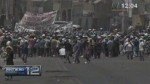 Arequipa: mineros ilegales bloquearon otra vez Panamericana Sur - Noticias de paro minero en arequipa