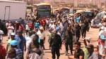 Mineros ilegales también bloquean carretera en Nasca - Noticias de paro minero en arequipa