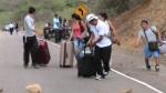 Paro minero: Se bloqueó la vía hacia Ecuador - Noticias de paro minero en arequipa