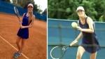 Raffaella Camet sorprendió en su faceta de tenista - Noticias de badmintonista