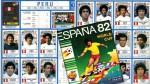 España 82: la página del último álbum de figuras que ocupó Perú - Noticias de roberto rojas