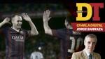 """Jorge Barraza: """"El Barza es el mejor equipo que vi en 50 años"""" - Noticias de leo grand"""