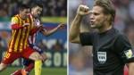 """Árbitro del """"gol fantasma"""" dirigirá Barcelona-Atlético Madrid - Noticias de champions leage"""