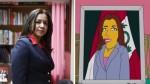 Vicepresidenta está orgullosa de haber aparecido en Los Simpson - Noticias de los simpson