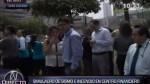 San Isidro: simulacro de sismo se realizó en centro financiero - Noticias de simulacros de sismo