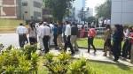 Sismo y tsunami: así fue el simulacro de hoy en San Isidro - Noticias de simulacros de sismo
