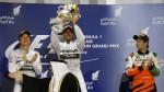 Fórmula Uno: Hamilton ganó y Mercedes repite 1-2 en Bahréin - Noticias de luca cordero