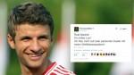 Thomas Müller y su reacción vía Twitter tras ver el sorteo - Noticias de heinrich muller