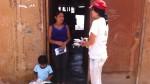 Voluntarios enseñan prevención en sectores vulnerables - Noticias de simulacro de sismo