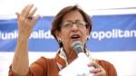 """Villarán: """"Lo mejor para Lima es una coalición democrática"""" - Noticias de puente alipio ponce"""