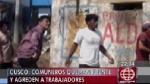 Comuneros de Quebrada apedrean a obreros que construían puente - Noticias de quellouno