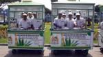 Emolienteros de Surco presentaron nuevos módulos y uniformes - Noticias de emolienteros