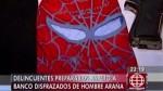 Sujetos vestían máscaras del Hombre Araña para asaltar - Noticias de angry birds