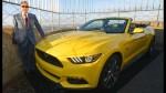 FOTOS: Ford sube un Mustang a la cima del Empire State - Noticias de mustang