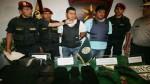 Dos asaltantes de bancos capturados en Villa María del Triunfo - Noticias de diario trome