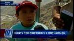 Semana Santa: niño se perdió en trayecto al cerro San Cristóbal - Noticias de viernes santo