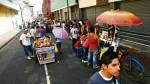 Ambulantes toman el centro ante falta de fiscalización - Noticias de señor de los milagros