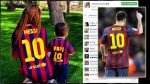 Tras gol de Leo: el festejo de la novia y el hijo de Messi - Noticias de thiago messi