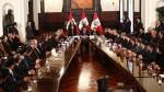 No reelección de presidentes regionales: existen dos proyectos - Noticias de detenidos